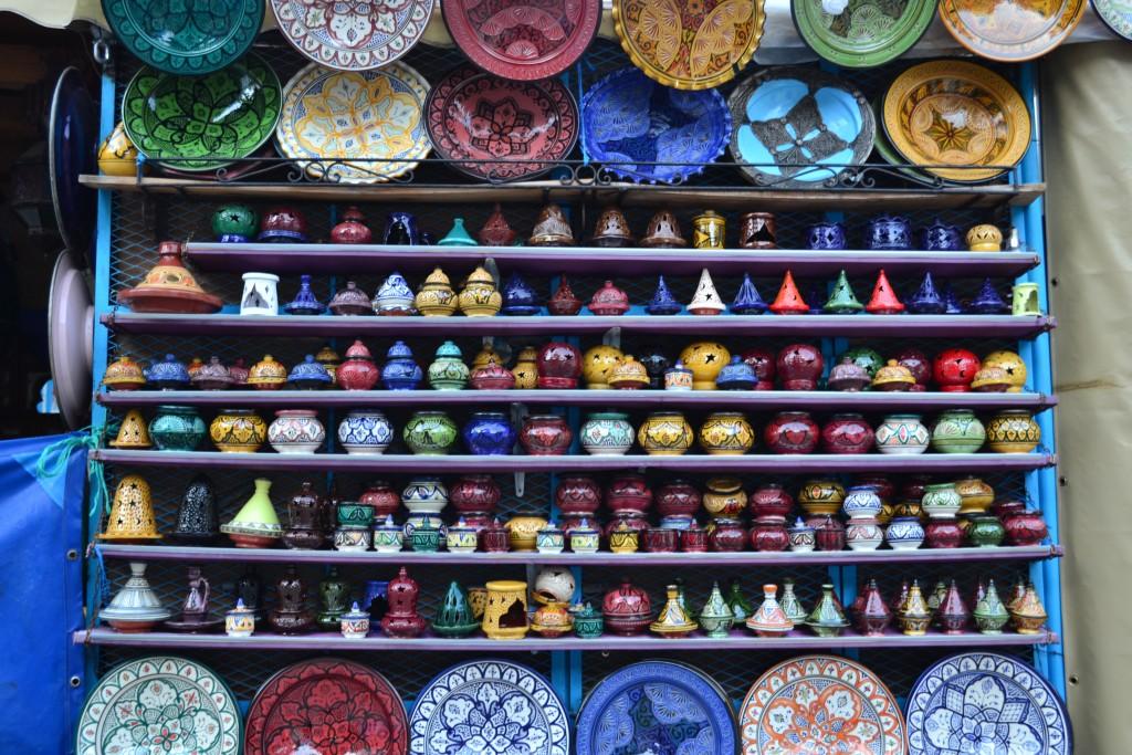colores de Chaouen