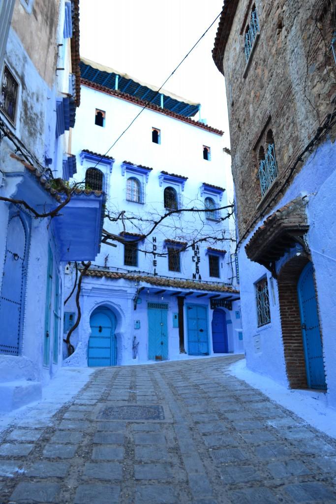 calles de Chaouen