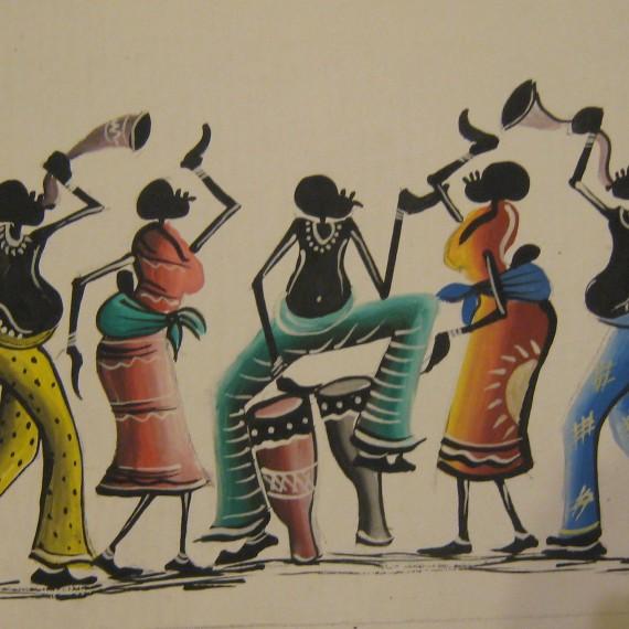 danza africana. Abene. Senegal