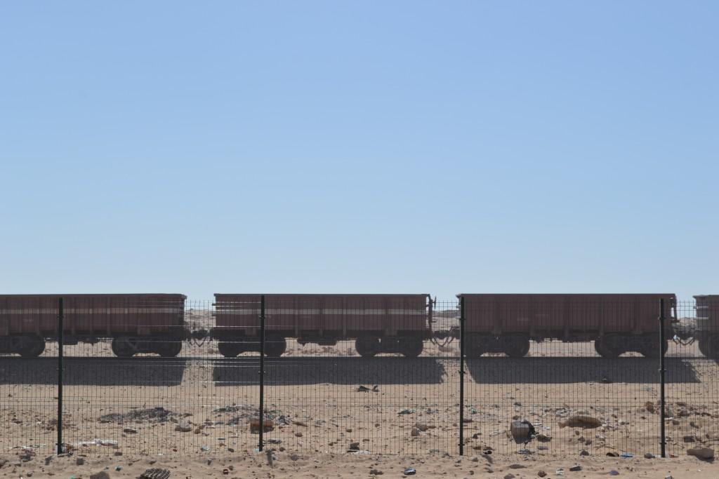 Mauritania. Tren mas largo del mundo