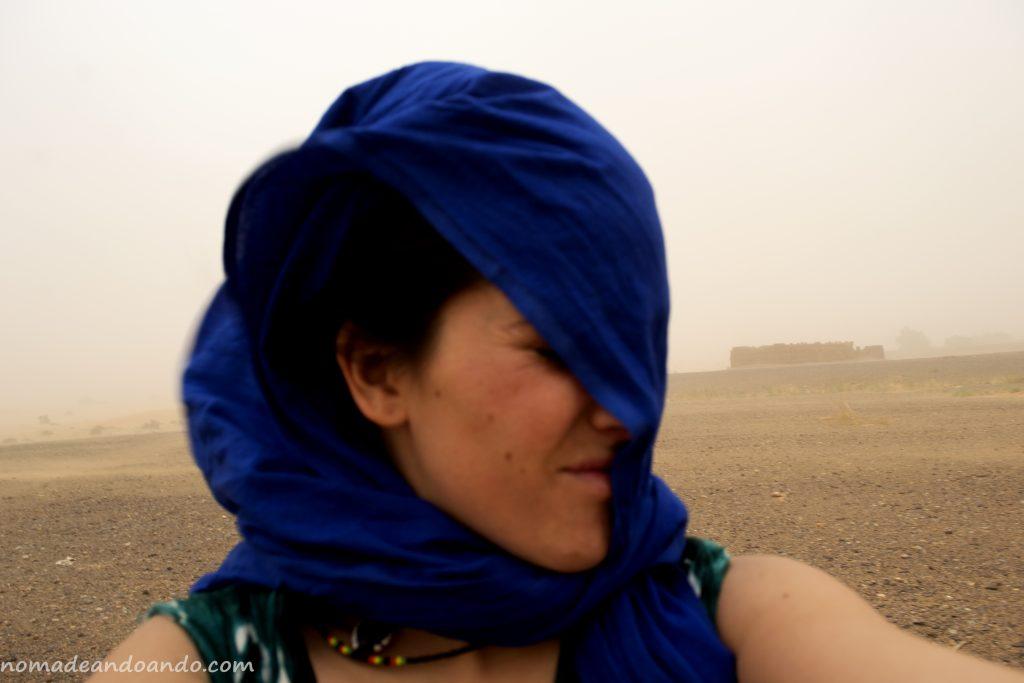 tormenta de arena. Conexiones y caminos invisibles