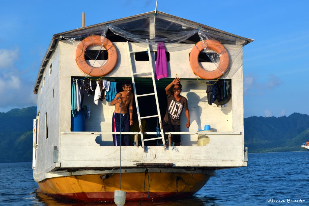 De Lombok a Flores en barco