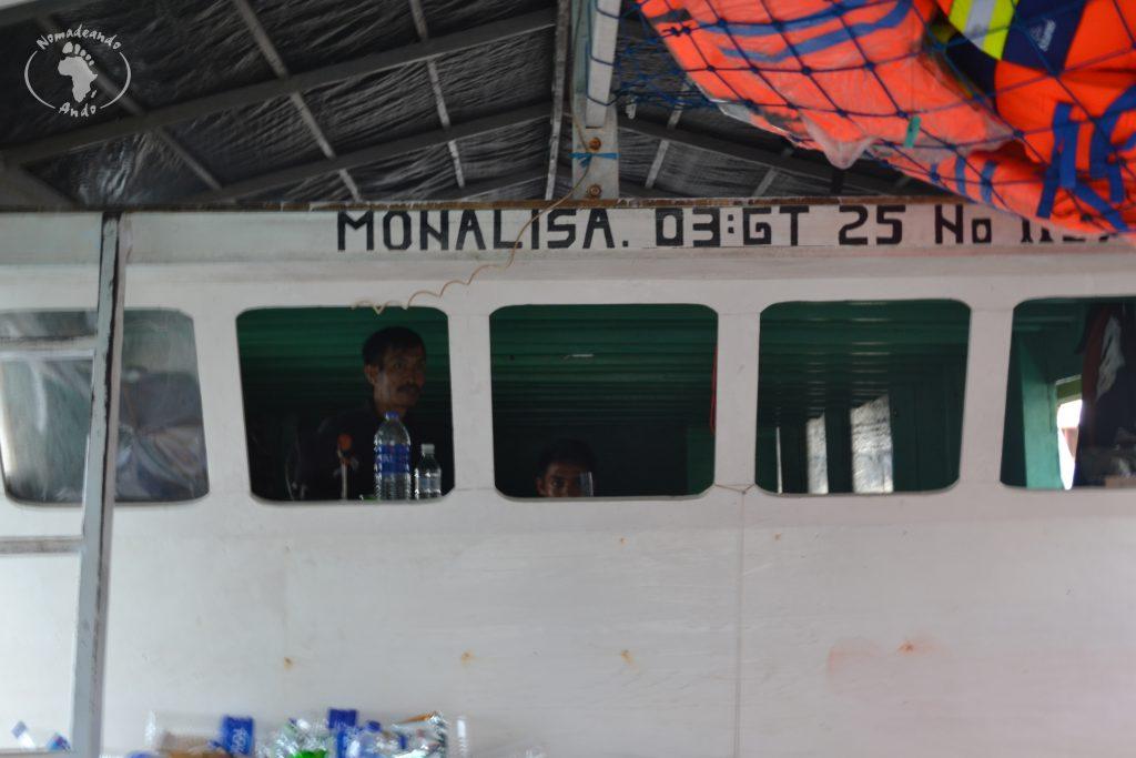 contratar una excursión de Lombok a Flores en barco