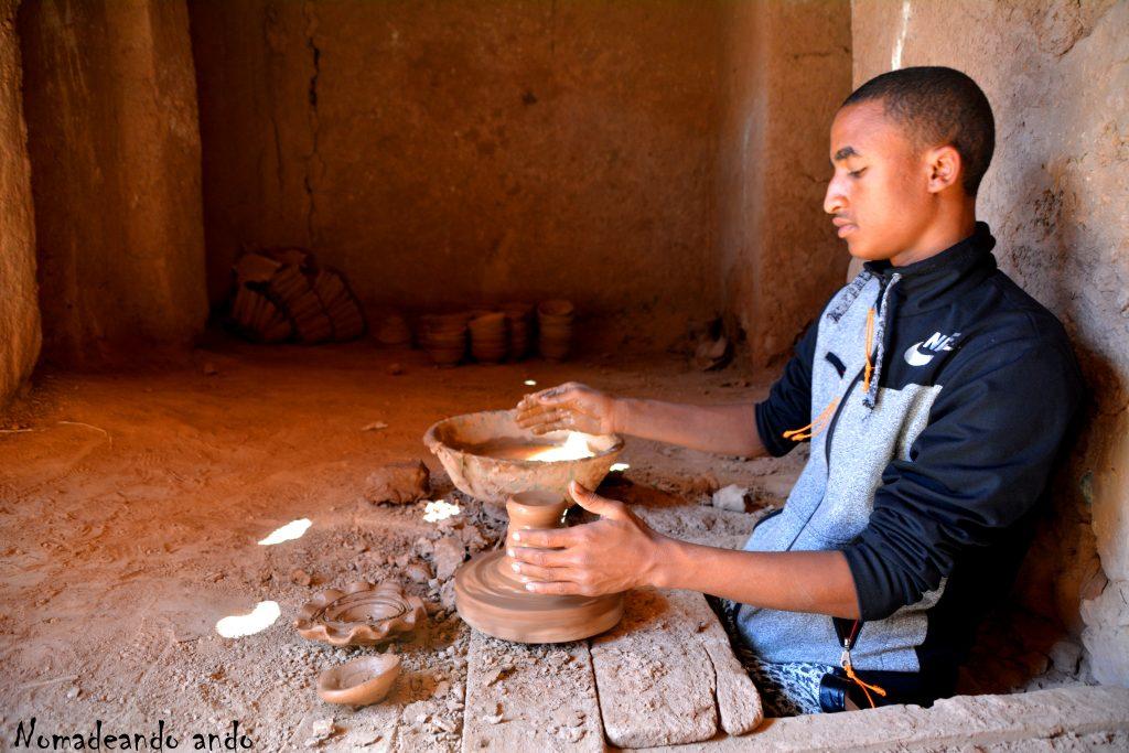 cerámica Tamegrut