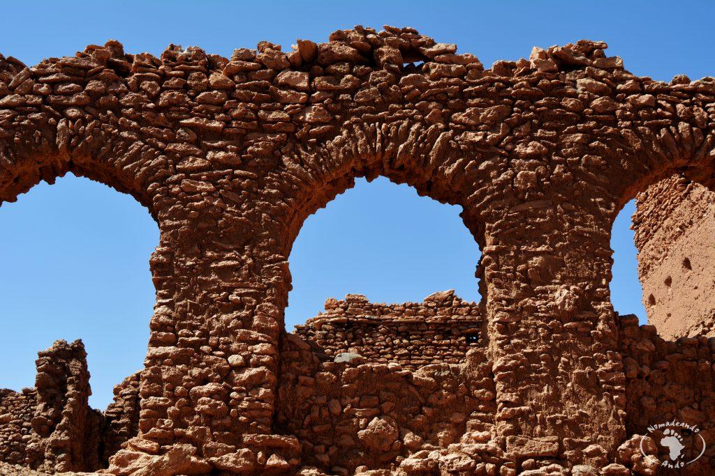 ruinas en kasbah de Tisnt