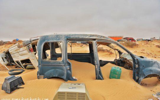 """Kandahar: Cruzando la """"tierra de nadie"""" hacia Mauritania"""
